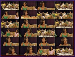 Michelle Obama---10.07.2012--Talk--very lovely dress--USA