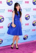 Zooey Deschanel  - 2012 Teen Choice Awards in California 07/22/12