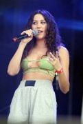Eliza Doolittle - Olympic Torch Relay Concert in London (bikini top)- 07/26/12